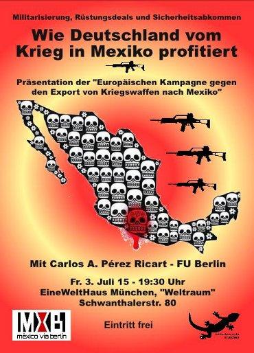 Wie Deutschland vom Krieg in Mexiko profitiert