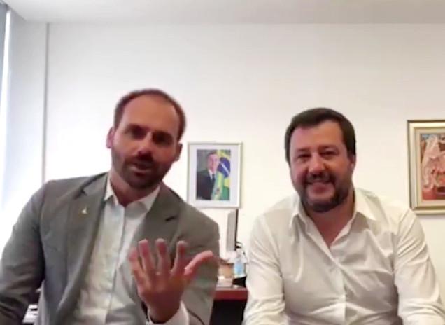 Brasilien: Präsidentensohn trifft ultrarechte Regierungsvertreter in Europa