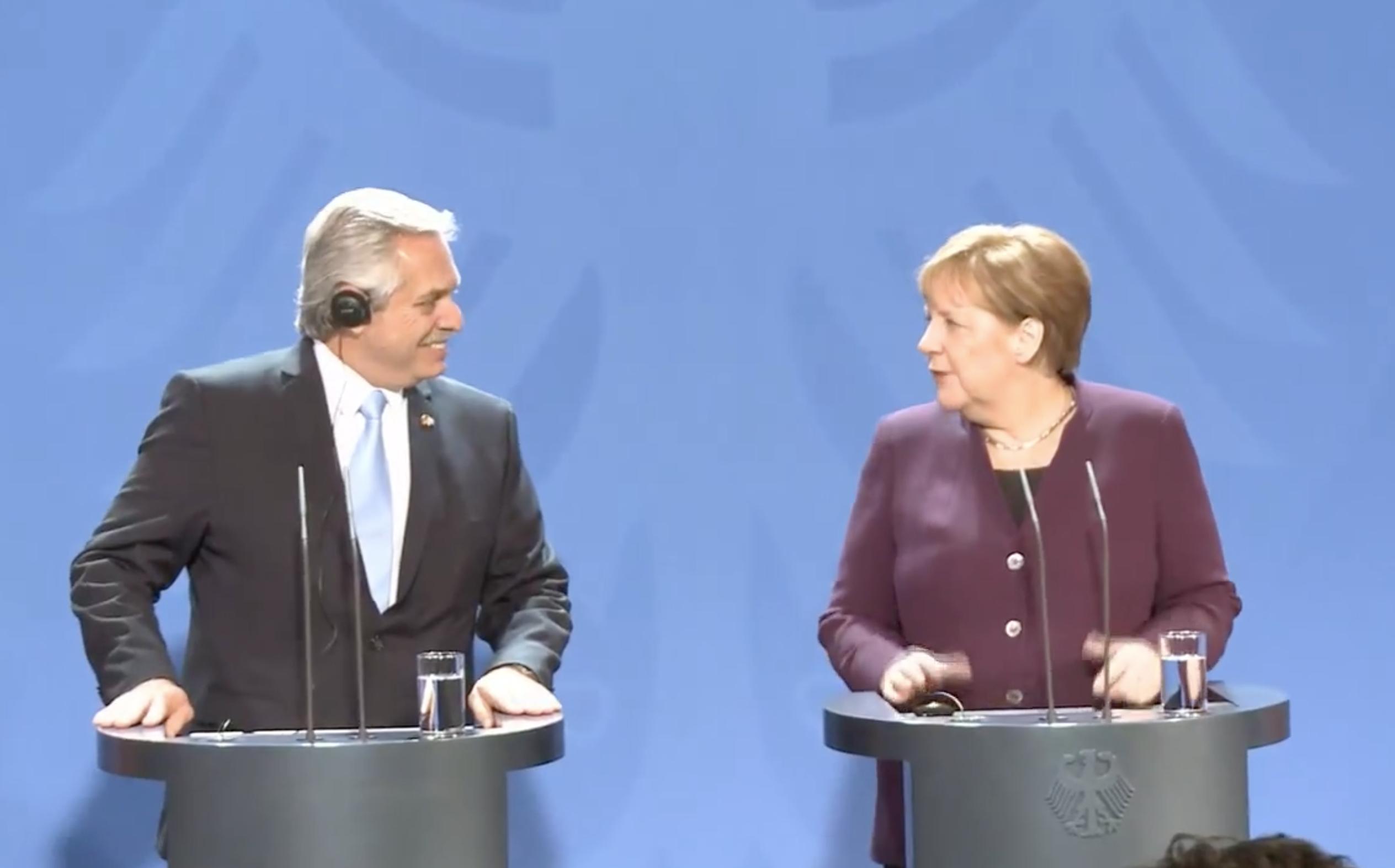 Merkel sagt Argentinien Hilfe bei Krisenbewältigung zu