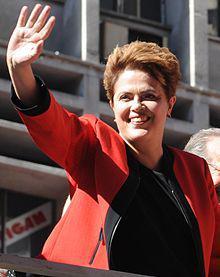 Erste Präsidentin Brasiliens: Dilma Rousseff