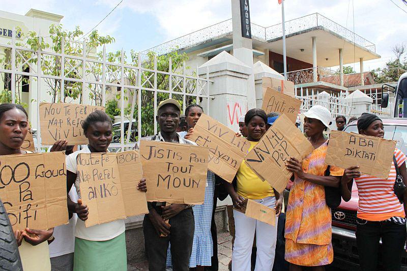 ...war am 28. Juli 2010 Ziel zahlreicher Demonstranten...