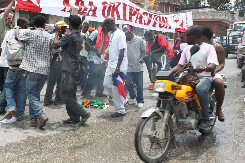 Die Proteste sorgen für Aufmerksamkeit.