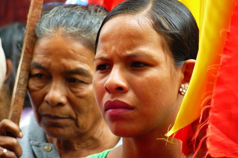 Frauen der Frente Campesino (revolutionäre Bauernorganisation)