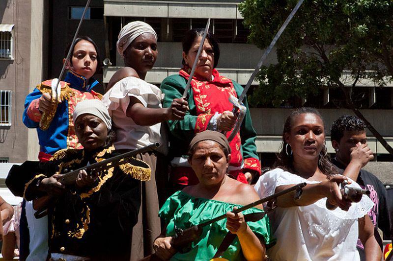 Heldinnen aus der venezolanischen Widerstandsgeschichte