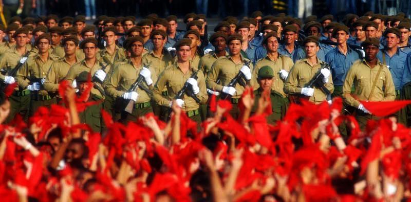 Truppen und Bevölkerung