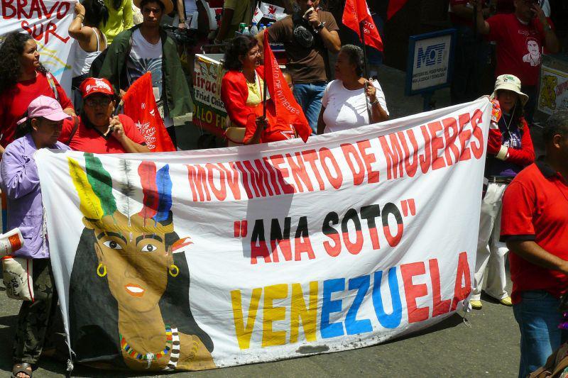 """""""Ana Soto"""" - die venezolanischen Organisatorinnen der """"Weltkonferenz der Basisfrauen"""""""
