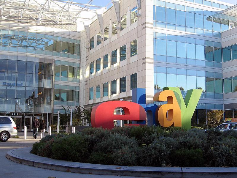 Die eBay-Zentrale in San José, Kalifornien