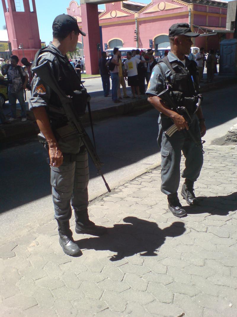 Militärpolizei in Rio de Janeiro