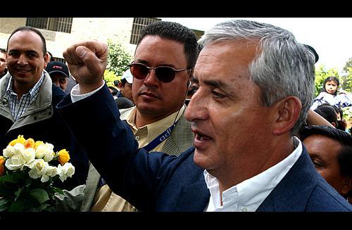 Harte Hand: Ex-Militär Otto Pérez