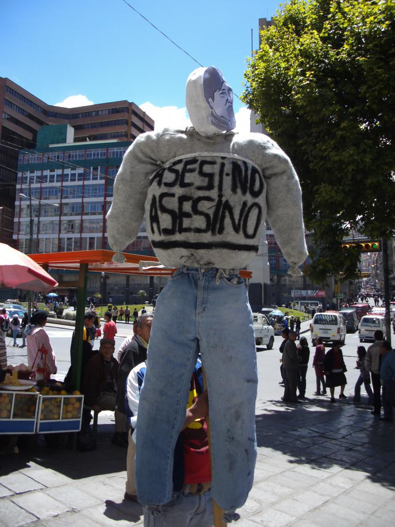 Vorbereitungen für die Demonstration am 28.9.2011