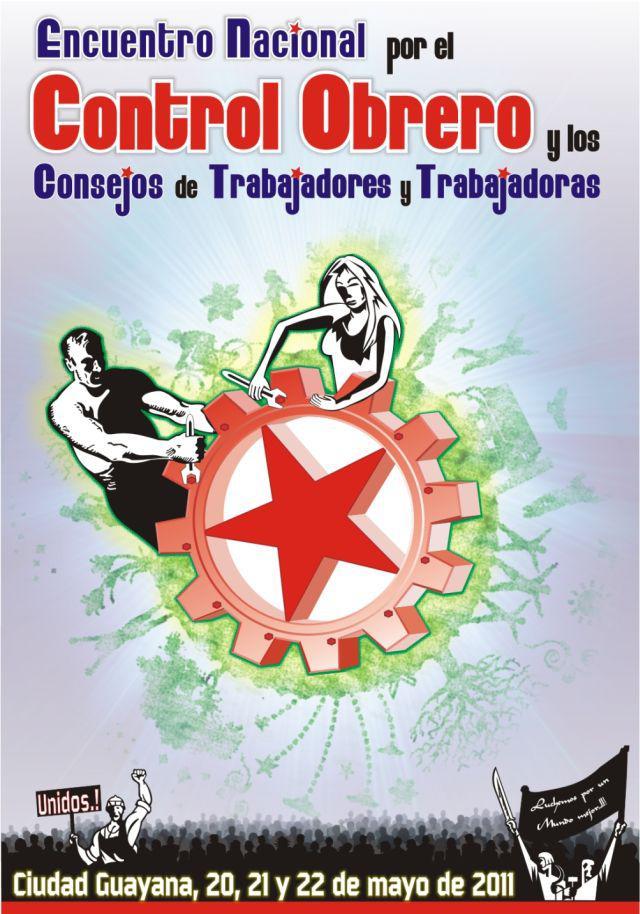 Plakat für das I. landesweite Treffen zur Arbiterkontrolle