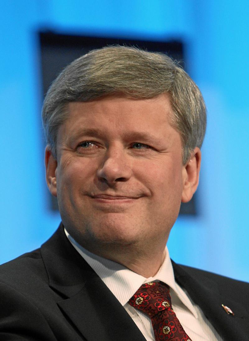 In der Kritik: Kanadas Premier Stephen Harper