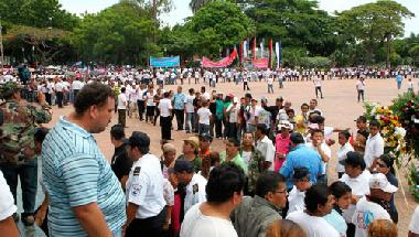 Die Angehörigen sind bewegt von den vielen Tausenden, die am 1. Mai Abschied von Tomás Borge nahmen.