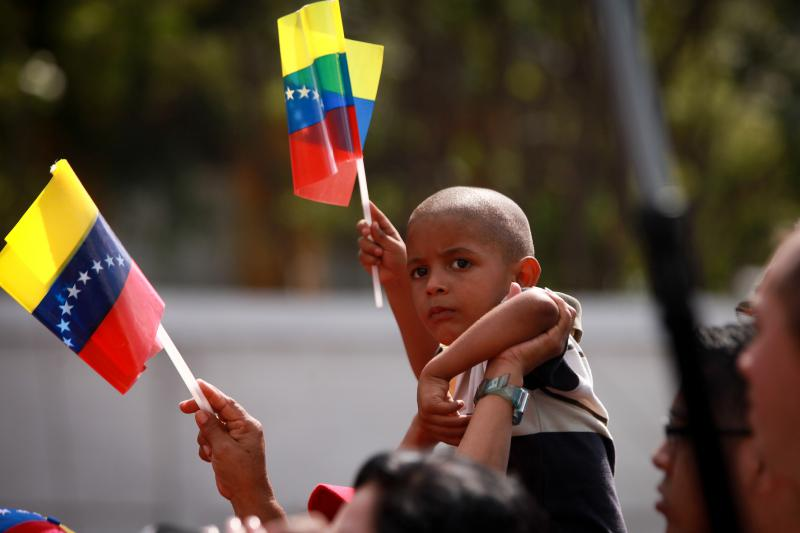 Die Wahl in Venezuela war auch eine Familienfeier