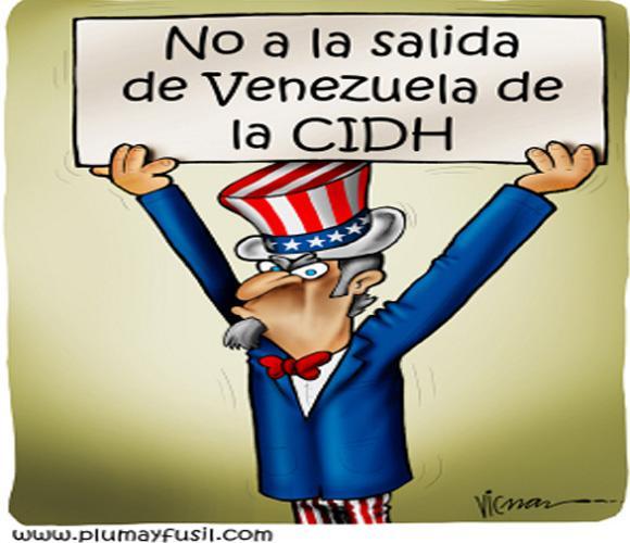 Uncle Sam sieht den Rückzug Venezuelas aus der CIDH nicht gerne