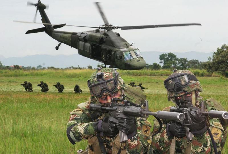 Soldaten der kolumbianischen Armee