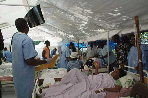 Kubanische Ärzte im Einsatz in Haiti