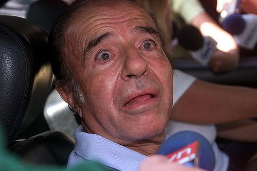 Ex-Präsident Carlos Menem