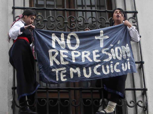 """""""Keine Repression in Temucuicui mehr!"""""""