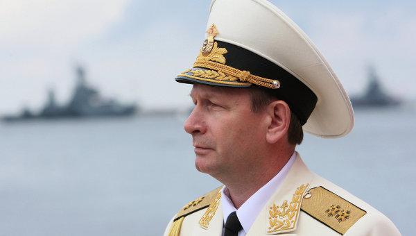 Vize-Admiral Viktor Tschirkow