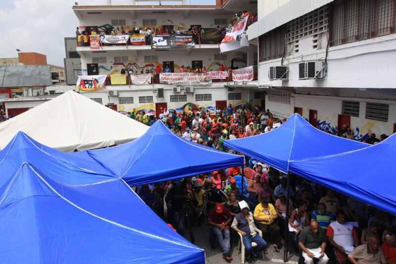 In Barquisimeto fand die erste regionale Versammlung für den Aufbau des kommunalen Staates Lara statt