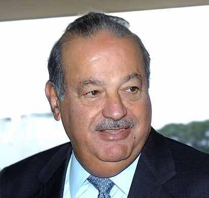 Carlos Slim Helú aus Mexiko, Unternehmer unter anderem in der Telekommunikationsbranche, gilt als reichster Mann der Welt