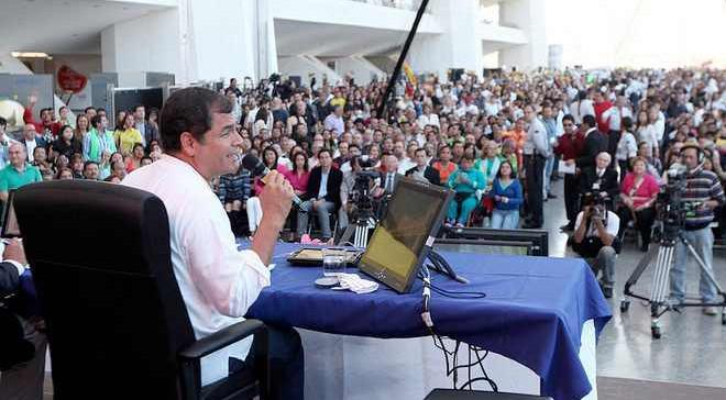 Ecuadors Präsident Correa