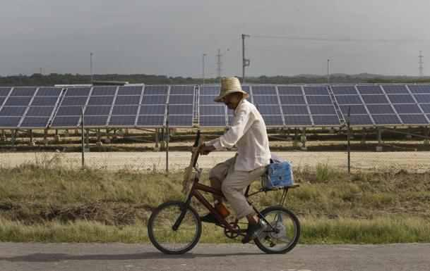 Solarstromanlage in Kuba