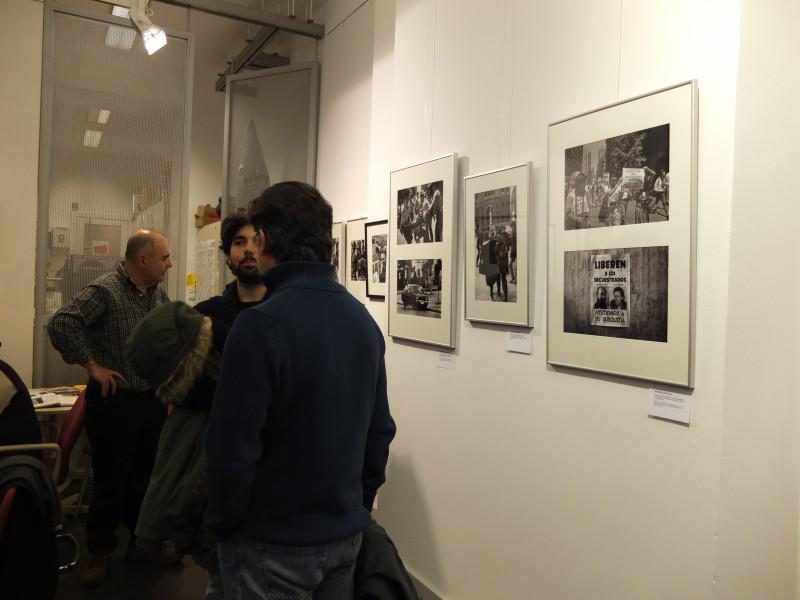 Bei der Austellungseröffnung in der Verdi-Mediengalerie in Berlin