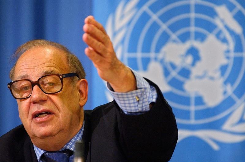 Jean Ziegler, Soziologe und ehemaliger UN-Sonderberichterstatter für das Recht auf Nahrung