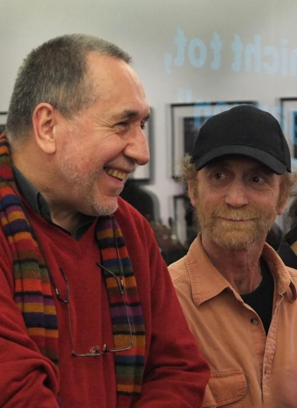 José Giribás und Oscar Navarro