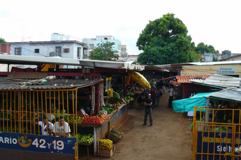 Obst-und Gemüsemarkt in Havanna