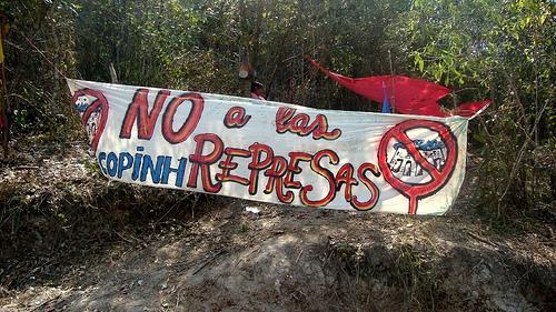 Protest gegen Staudamm in Honduras