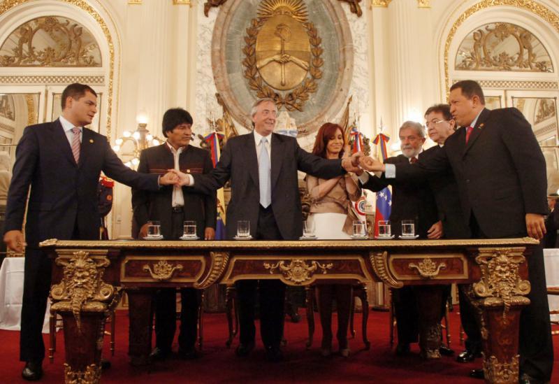Am 9. Dezember 2007 wurde die Gründungsakte der Bank des Südens unterzeichnet