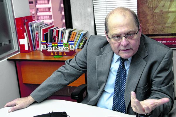 ALBA-Exekutivsekretär Bernardo Álvarez