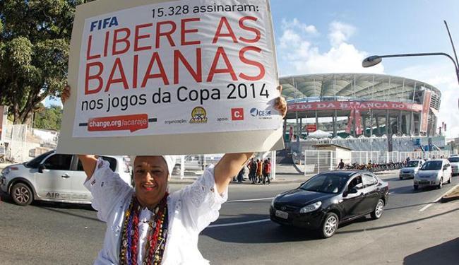 Rita Santos, Präsidentin der Vereinigung der Baianas