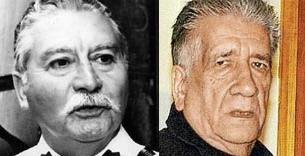 Die beiden Angeklagten: Pedro Espinoza Bravo (links) und Marcelo Moren Brito (rechts)
