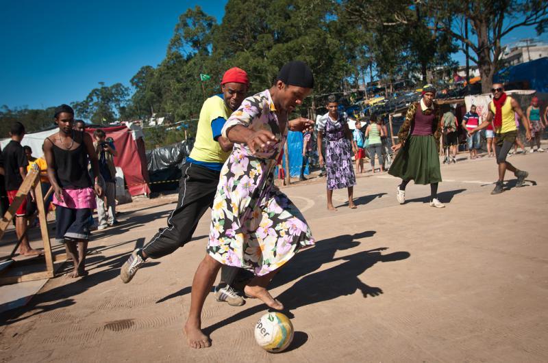 Fußball, einmal befreit von der Geschlechterfrage