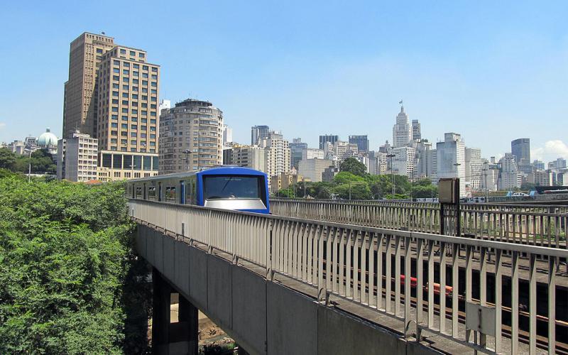 U-Bahn in São Paulo