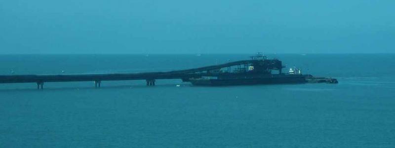 Drummonds Hafenanlage in Santa Marta