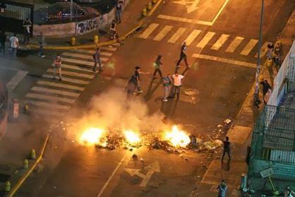 Gewalttätige Ausschreitungen in Venezuela