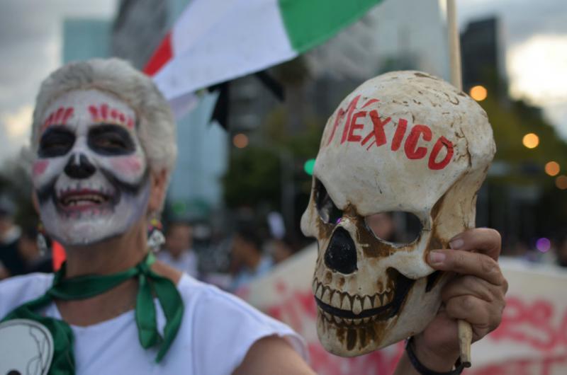 Mexiko - ein Symbol für den Tod
