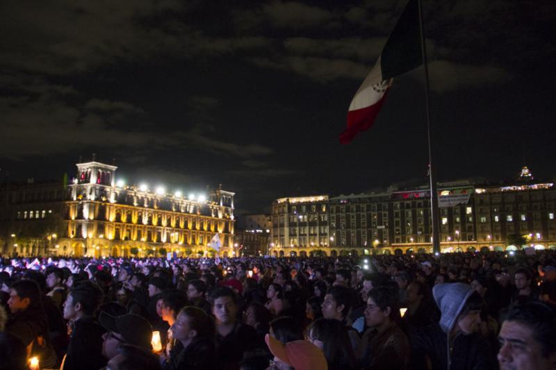 Zentrale Kundgebung in der Hauptstadt