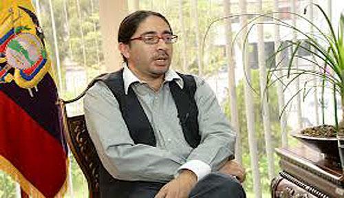 Ecuadors Hochschulminister René Ramírez