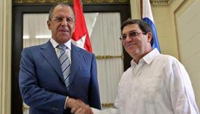 Außenminister von Russland, Kuba: Lawrow, Rodríguez