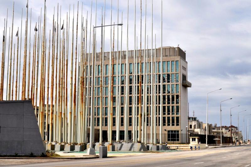 """Sitz der """"US-Interessenvertretung"""" in Havanna – künftiger Ort der US-Botschaft?"""