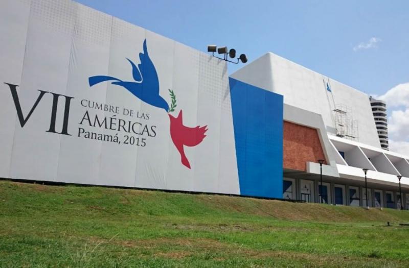 Das Kongresszentrum Atlapa, Austragungsort des 7. Amerikagipfels