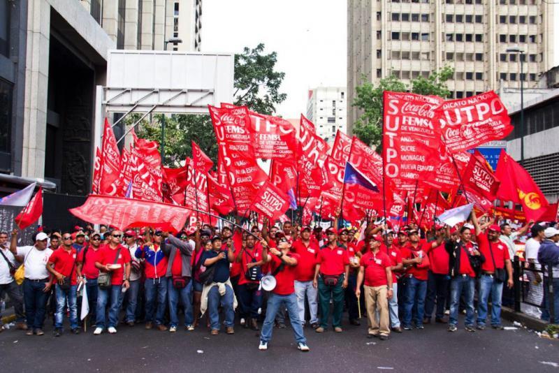 Sie richtete sich auch gegen die US-Politik der Einmischung in die inneren Angelegenheiten Venezuelas