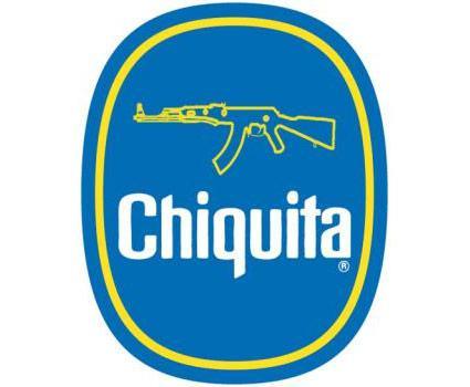 Bildmontage mit Chiquita-Logo