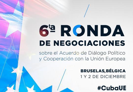 Die 6. Gesprächsrunde zwischen Kuba und der EU wird am 1. und 2. Dezember in Brüssel stattfinden
